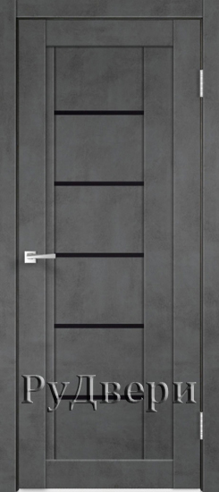 Муар темно-серый